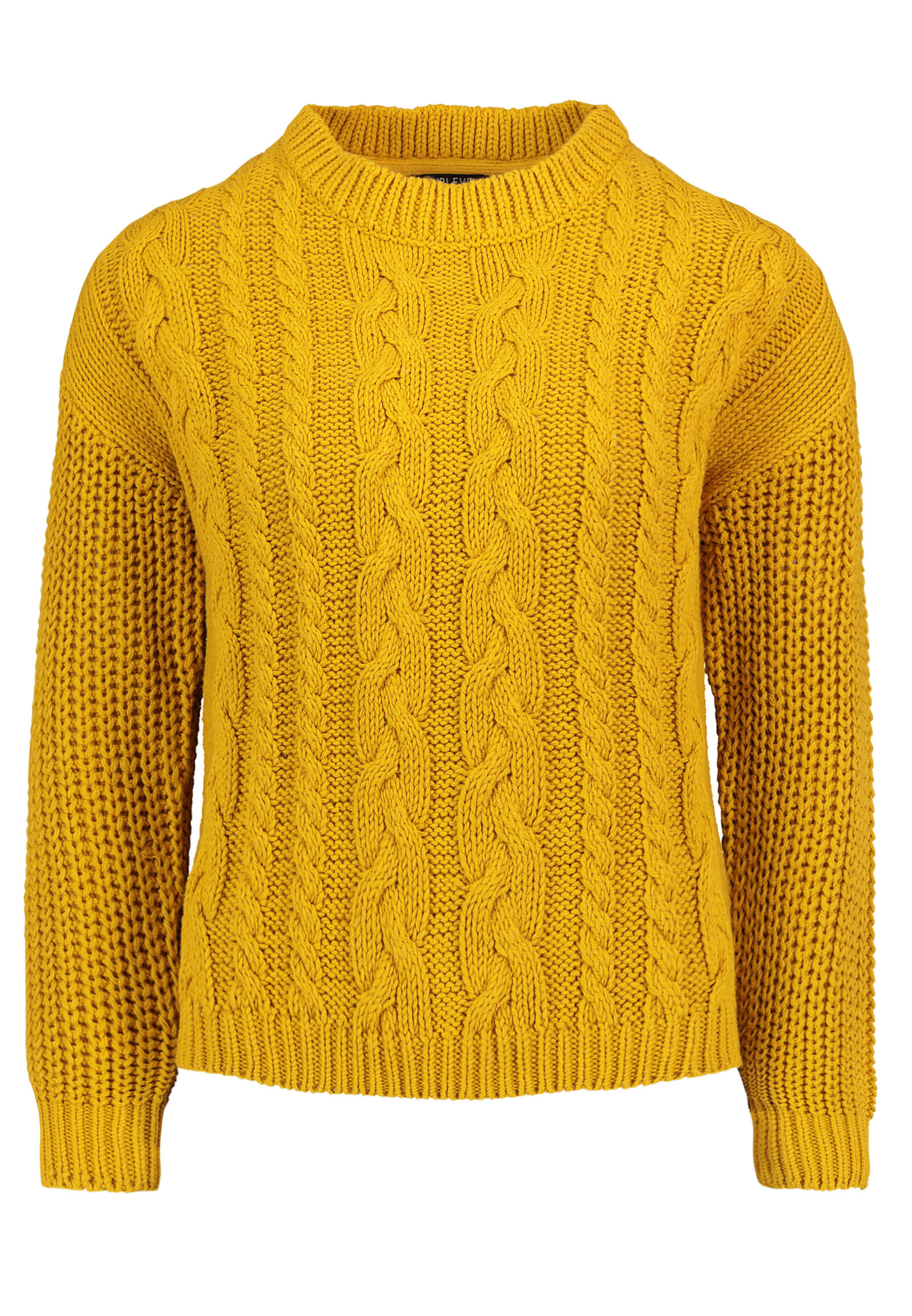 Lockerer Grobstrickpullover