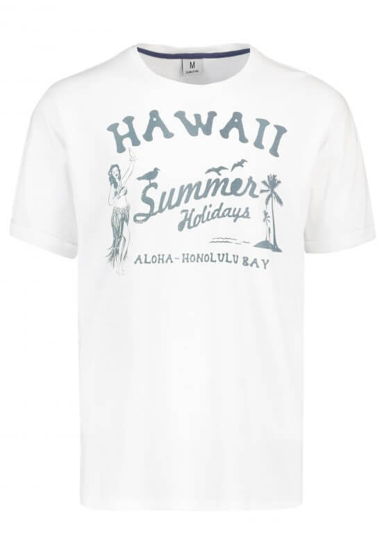 T-Shirt mit Hawaii-Print